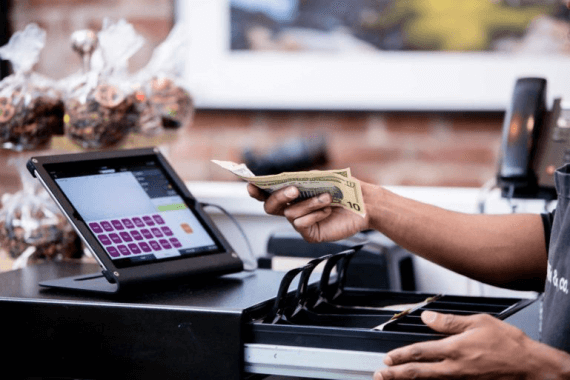 POS with digital payment transaction