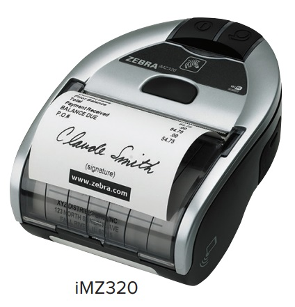 Allmark - Zebra IMZ320 Mobile Printer